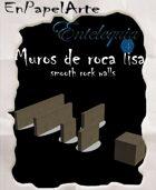 Muros de roca lisa (tabloide) Smooth rock walls