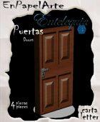Puertas modelo 8 - Doors model 8 (carta)