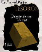 Lingote de oro / Gold ingot (tabloide)