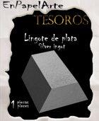 Lingote de plata / Silver ingot (tabloide)