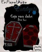 Caja de dados Ataud / Coffin Dice box