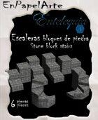 Escaleras de bloques de piedra / stone block stairs