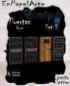 Puertas Set 5 - Doors set 5 (carta)