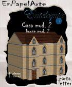 Casa mod. 2 / House mod. 2(carta)