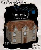 Casa mod. 3 / House mod. 3(tabloide)