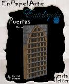 Puertas modelo 17 - Doors model 17 (carta)
