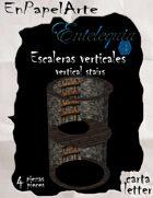 Escaleras verticales TC / Cave ladder TC