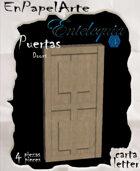 Puertas modelo 21 - Doors model 21 (carta)