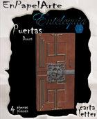 Puertas modelo 22 - Doors model 22 (carta)