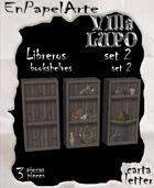 Libreros mod 2 - Bookshelf set 2
