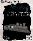 Tren de vapor, Locomotora / Steam Train, Locomotive