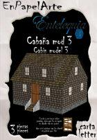 Cabaña modelo 3 / Cabin model 3 (carta)