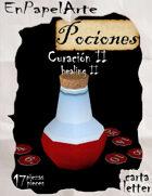 Poción de curación 2 / healing potion 2