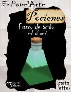 Frasco de ácido / vial of acid