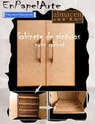 Gabinete para pinturas / Paints cabinet