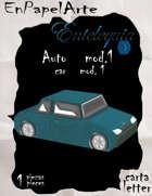Auto modelo 1 / Car model 1