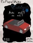 Auto modelo 3 / Car model 3