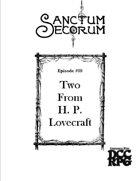 Sanctum Secorum - Episode #09 Companion