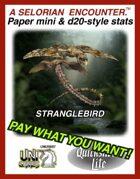 Stranglebirds: Set 4, Quicksilver Paper Minis