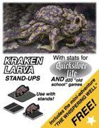 Kraken Larva: Set 6, Quicksilver Paper Minis