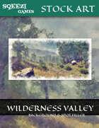 Stock Art Background: Wilderness Valley