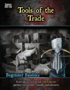 Beginner Baubles: Tools of the Trade