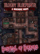 24x36 Battlemap - Hospital of Horrors