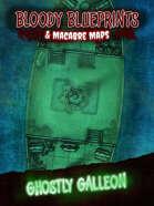 24x36 Battlemap - Ghostly Galleon