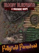24x36 Battlemap - Follyfield Farmstead