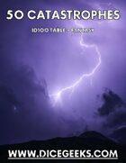 50 Fantasy Catastrophes - 1D100 Table