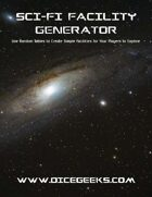 Sci-Fi Facility Generator