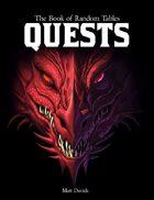 The Book of Random Tables: Quests