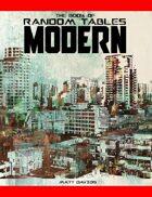 The Book of Random Tables: Modern