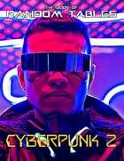 The Book of Random Tables: Cyberpunk 2