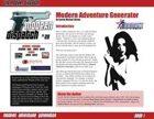 Modern Dispatch (#29): Modern Adventure Generator