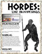 HORDES: The Bloodfang