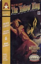 Thrilling Tales 2e: Pulp Villains - The Yellow King