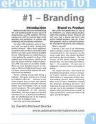 ePublishing 101 (#1) - Branding