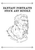 Fantasy Portraits Stock Art