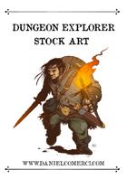 Dungeon Explorer Stock Art