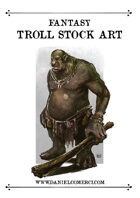Fantasy Troll Stock Art
