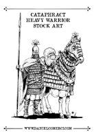 Cataphract - Heavy Knight Stock art