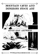 Mountain Caves and Dungeons Bundle Stock Art