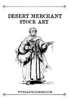 Desert Merchant Stock Art