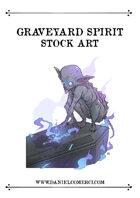 Graveyard Spirit Stock Art