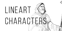 Lineart Characters