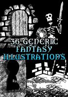 36 Generic Fantasy Illustrations