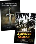 Random Solo Adventure: Fantasy Dungeon & Jungle Quest [BUNDLE]