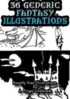 36 Generic Fantasy Illustrations - Part II