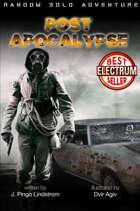 Random Solo Adventure: Post Apocalypse